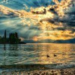 """tramonto lago di garda"""