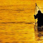 """""""un pescatore laguna venezia tramonto"""""""