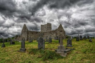 """abbazia burrishoole abbey"""
