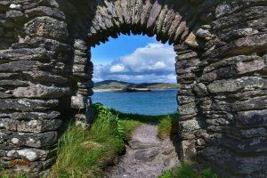 """""""dunlewey church finestra"""""""