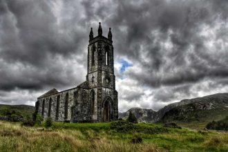 """abbazia dunlewey church irlanda"""