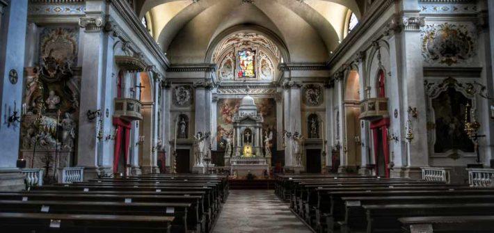 """""""interno chiesa cison di valmarino"""""""