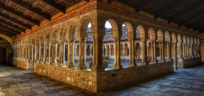 """""""abbazia di follina il magnifico chiostro"""""""