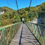 """""""il ponte sospeso sul lago corlo"""""""