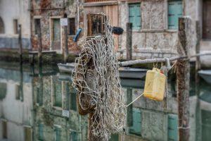 """""""venezia chioggia particolare reti pesca"""""""