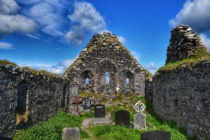 """abbazia derrynane posizionata abby island"""