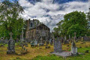 """""""irlanda esterno bellissima abbazia di muckross rovine"""""""