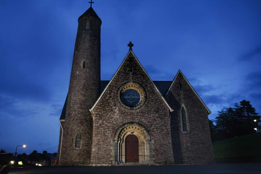 """""""donegal irlanda chiesa citta"""""""