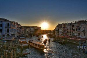 """""""venezia tramonto canal grande"""""""