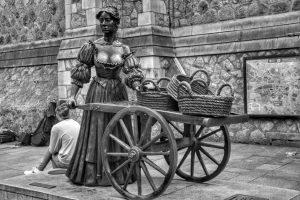 """""""dublino statua di molly malone"""""""