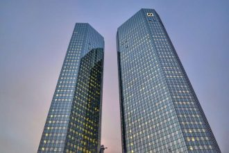 """""""grattacieli nel centro francoforte"""""""