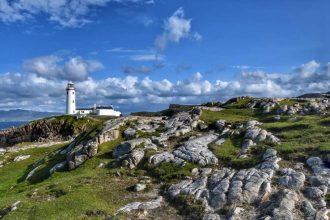 """irlanda fanad head lighthouse panoramica"""