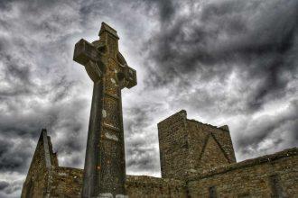 """""""abbazia burrishoole abbey croce celtica"""""""