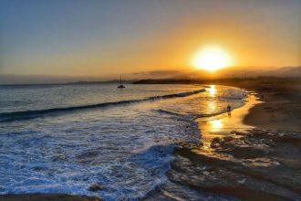 """playa medano tenerife tramonto"""