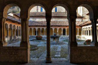 """""""abbazia di follina particolare del chiostro"""""""