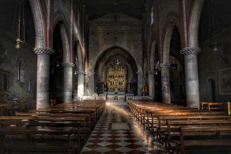 """""""abbazia follina interno fronte"""""""