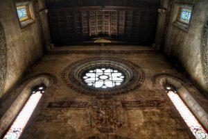 """""""abbazia follina interno particolare finestra"""""""