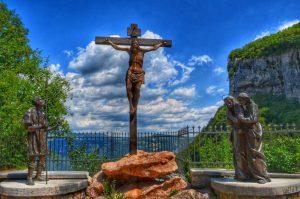 """""""sentiero della speranza cristo in croce"""""""