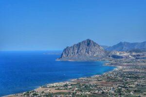 """""""panoramica costa nord occidentale della sicilia"""""""