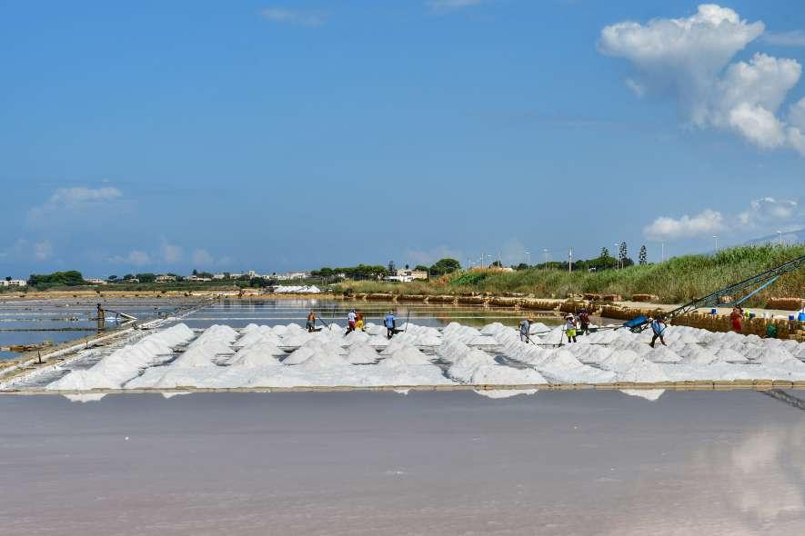 """piccole dune di sale bianco"""
