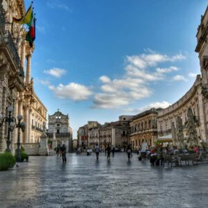 """bellissima piazza ortigia marmo bianco"""