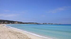 """""""lunga spiaggia bianca mare azzurro di san vito lo capo"""""""