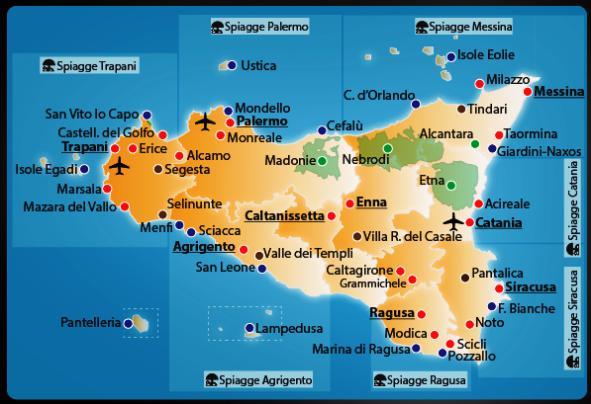 """""""mappa sicilia"""""""