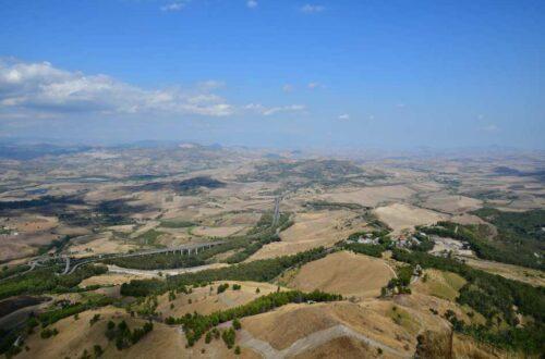 """""""sicilia cosa vedere in sette giorni panoramica valle enna"""""""