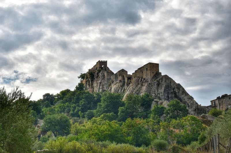 """""""montagna con castello di sperlinga dominate"""""""