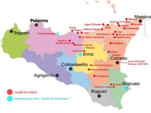 """""""luoghi da visitare in sicilia mappa"""""""""""