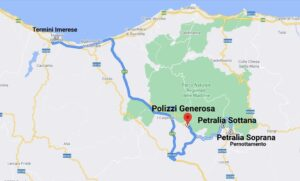 """""""tour sicilia luglio 2021 cartina giorno sette"""""""