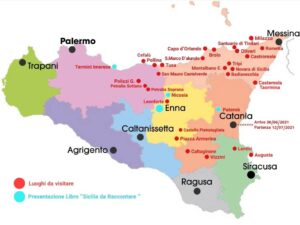 """""""luoghi da visitare in sicilia cartina"""""""