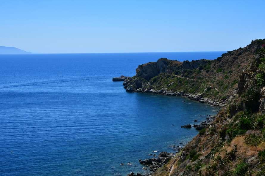 """""""vista panoramica baia capo milazzo sicilia orientale"""""""