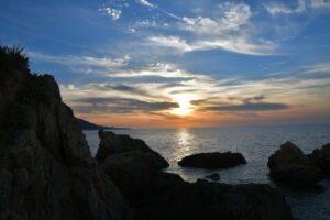 """""""tramonto sul mare castel di tusa"""""""