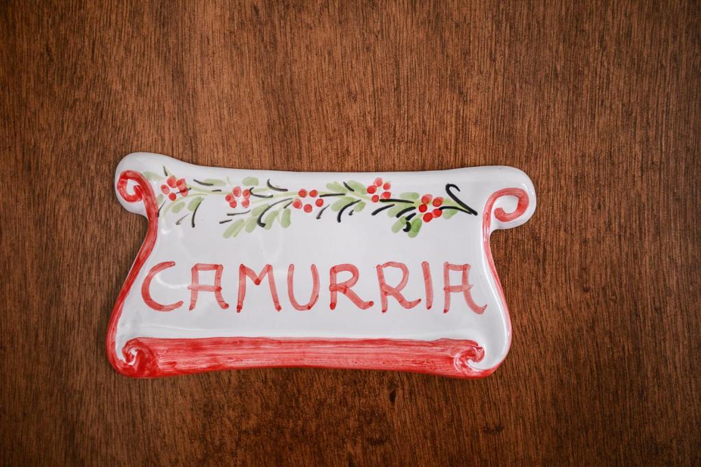 """targhetta stanza camurria"""