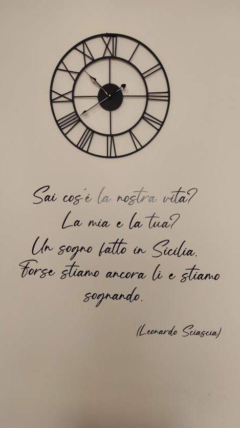 """""""frase sulla sicilia scritta sul muro beb oliveri sicilia"""""""