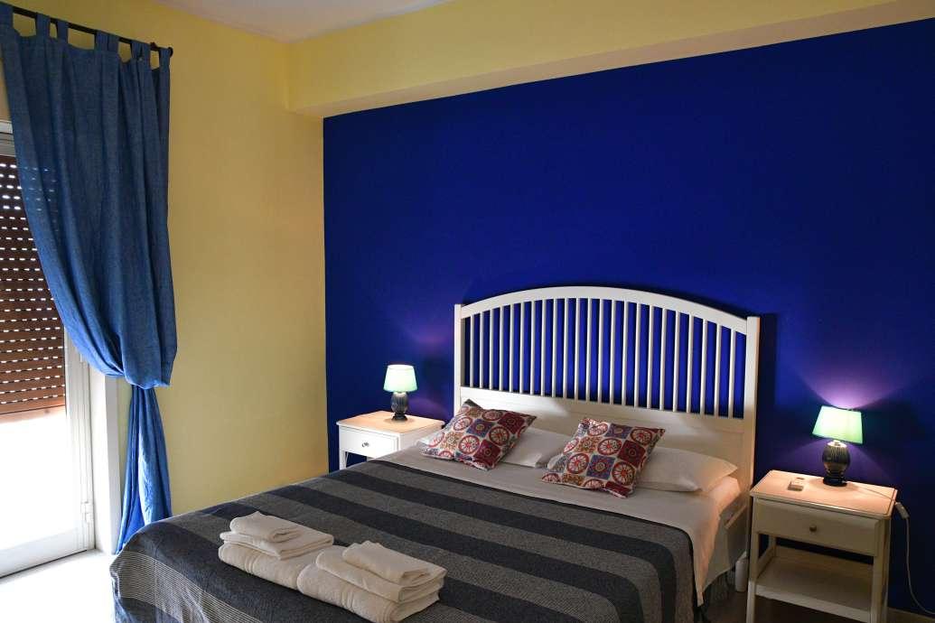 """""""bed and breakfast domus musia camere e appartamenti munch stanza letto"""""""