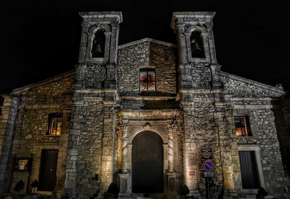 """chiesa di san paolo di notte a gangi"""