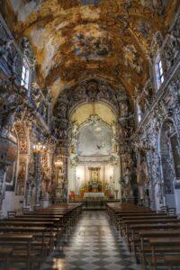 """""""mazara del vallo interno con stucchi e opere d arte chiesa san francesco"""""""