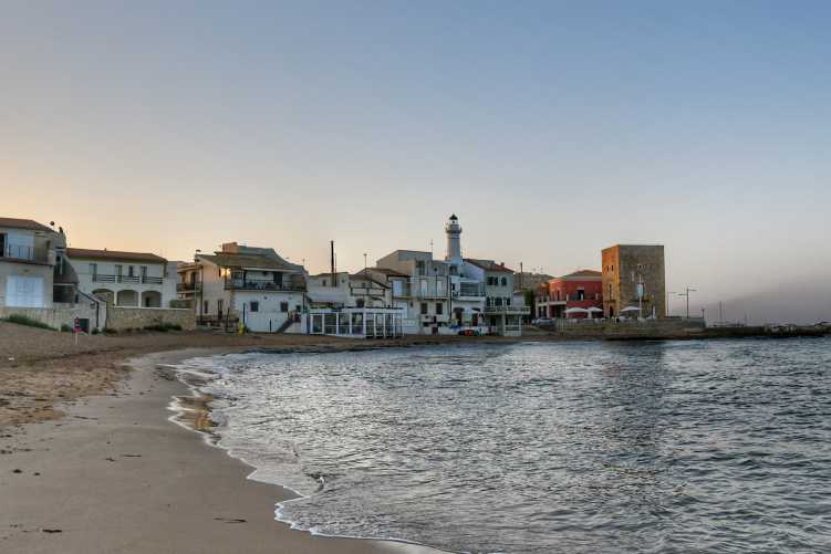 """""""sicilia punta secca vista dalla spiaggia"""""""