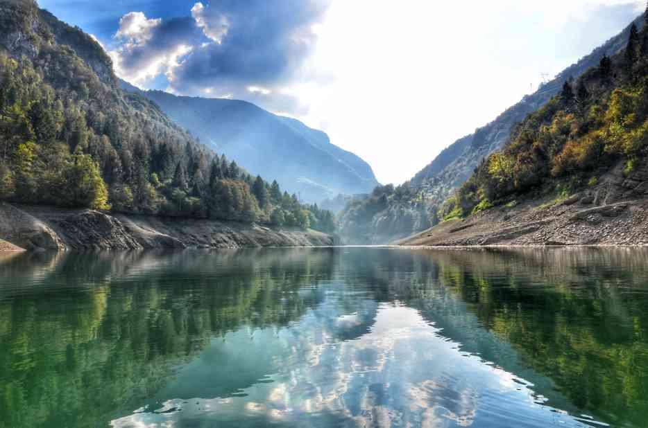 """""""lago di corlo splendida veduta interno lago"""""""